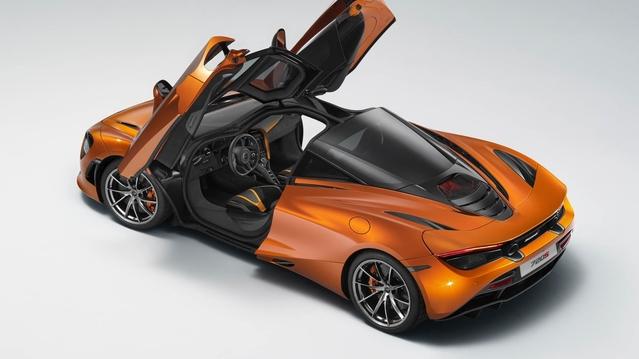 Salon de Genève 2017 : la McLaren 720S en fuite