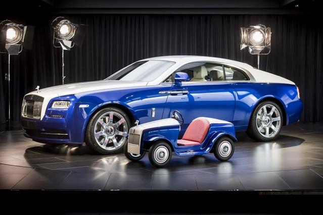 Une Rolls Royce très spéciale réservée aux enfants