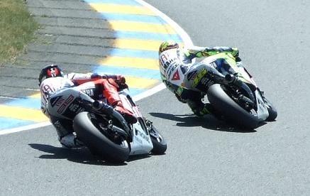 Moto GP France : La course des Moto GP en quelques photos pour la victoire de Lorenzo