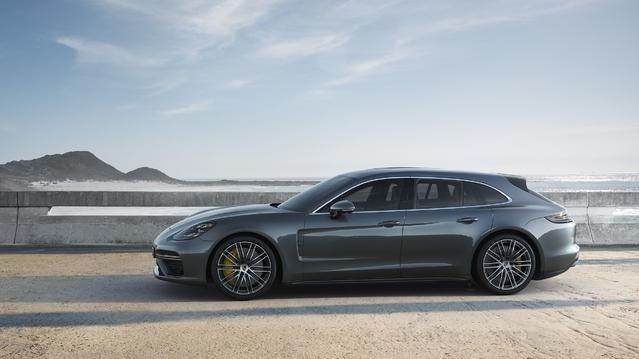 Salon de Genève 2017 - Porsche fait le break avec la Panamera Sport Turismo