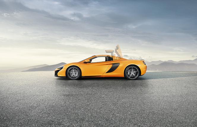 McLaren 650S Spider: nouvelle elle aussi