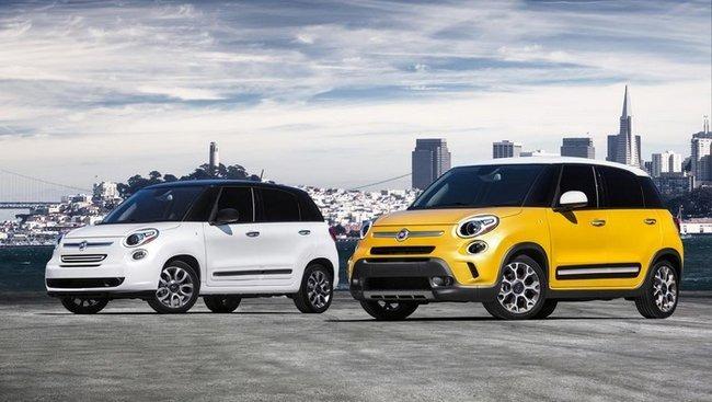 Fiat 500L et 500L Trekking : à la conquête de l'Ouest