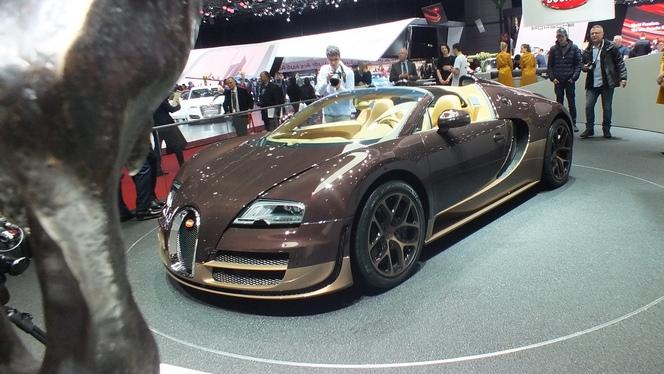 """En direct de Genève 2014 - Bugatti Veyron """"Rembrandt Bugatti"""""""