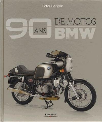 Idée cadeau: livre: 90 ans de motos BMW.