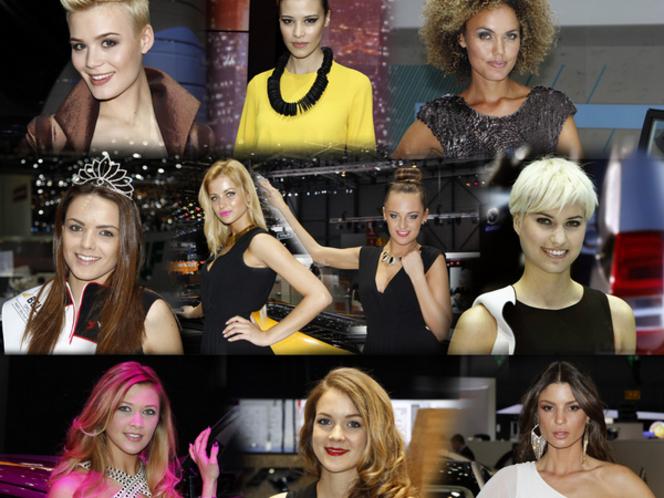 Vidéo - Les plus belles miss du salon de Genève