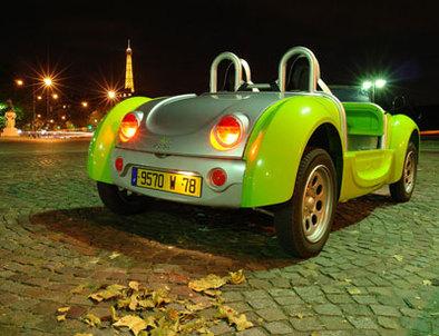 Caradisiac s'échappe dans Paris avec la Zest