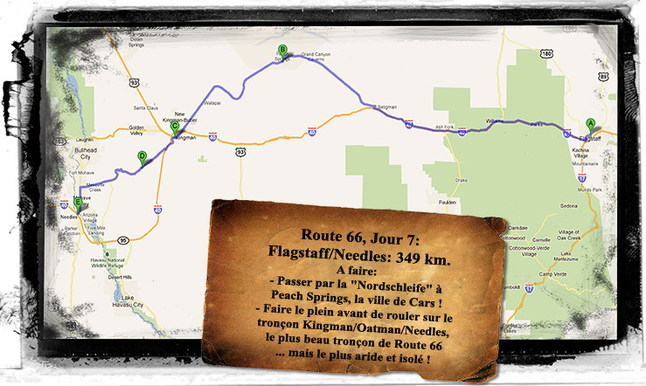 Caradisiac sur la Route 66 - Etape 7: On the road again !