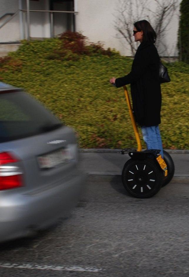 Suisse : le Segway PT i2 peut circuler sur les routes