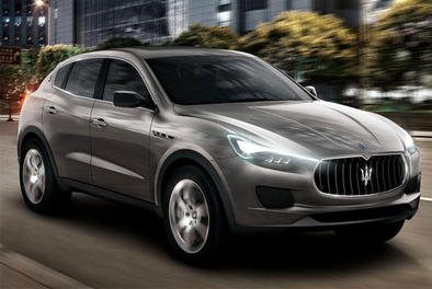 Maserati: le Levante retardé, l'Alfieri programmée