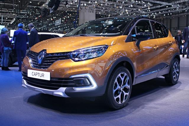 Renault Captur restylée : léger coup de pinceau - Vidéo en direct du Salon de Genève 2017