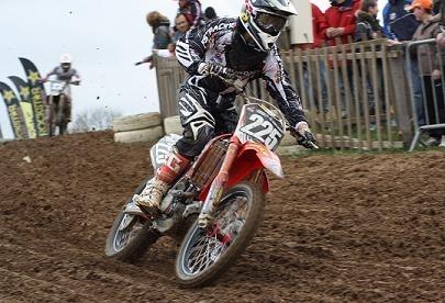 Motocross : Charles Lefrançois, 3ème du championnat de France Elite MX 2