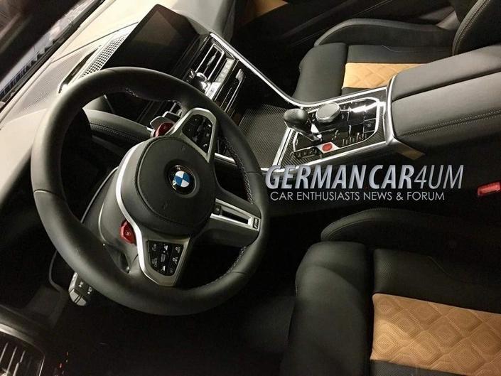 La BMW M8 Competition en fuite
