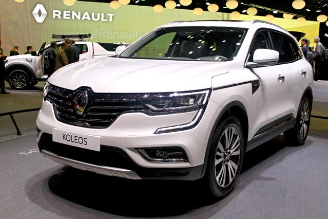 Renault Koleos : deuxième tentative - Vidéo en direct du Salon de Genève 2017