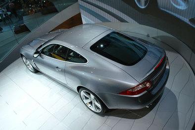 Jaguar XKR en direct du salon de Paris