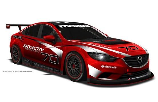 Une Mazda6 diesel de compétition...