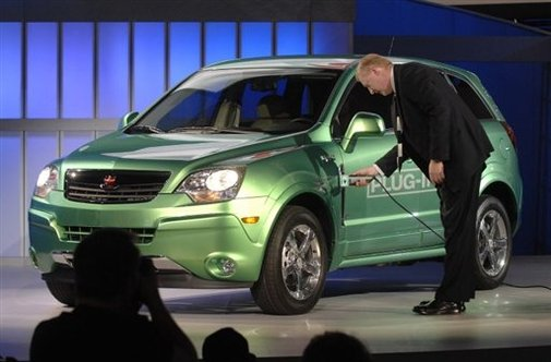 General Motors : son concept-car Saturn Vue Green Line Plug-In Hybrid fait sensation verte