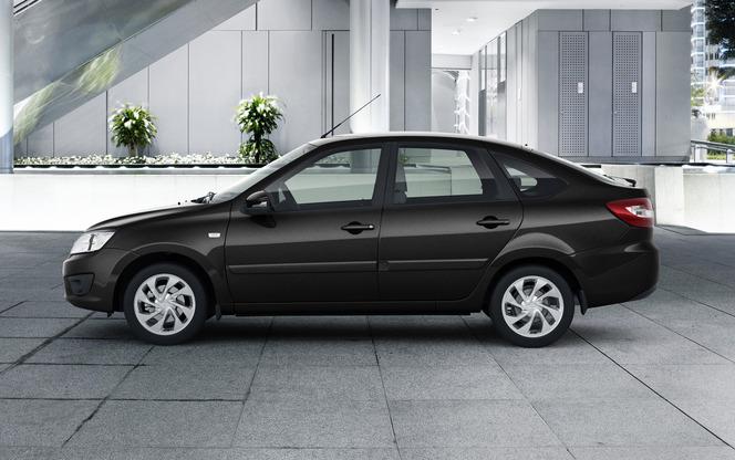 Nouvelle Lada Granta Liftback: européenne