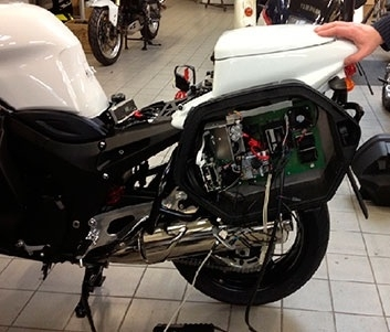 Actualité: le LAPI s'installe sur les motos