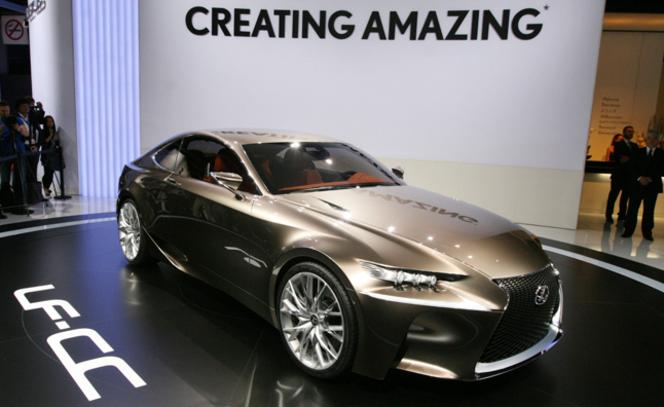Feu vert pour la Lexus LF-CC