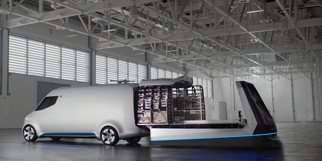 La livraison autonome, prochaine révolution des véhicules utilitaires