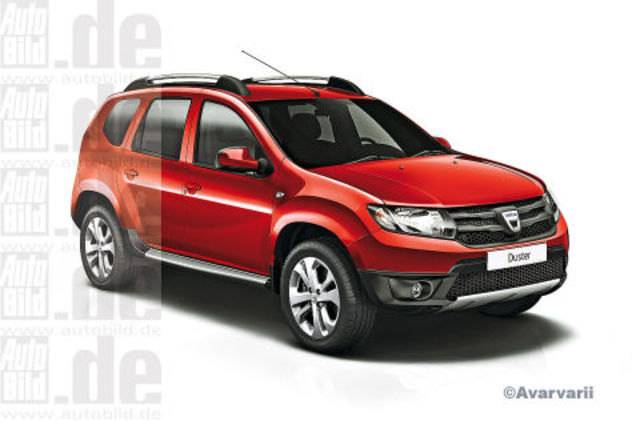 Dacia Duster restylé : comme ça ?
