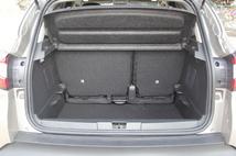 Le volume de coffre est dans la moyenne haute avec 377 litres minimum et jusqu'à 455 litres.