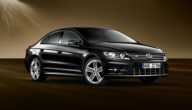 Volkswagen propose une CC Dynamic Black