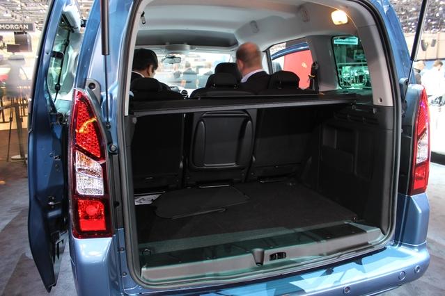Peugeot Partner électrique - en direct du salon de Genève 2017 :