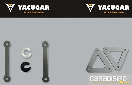 Yacugar joue sur la hauteur de votre moto… et vous offre un tee-shirt.