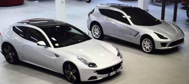Voici la proposition de Giugiaro Ital Design pour la Ferrari FF