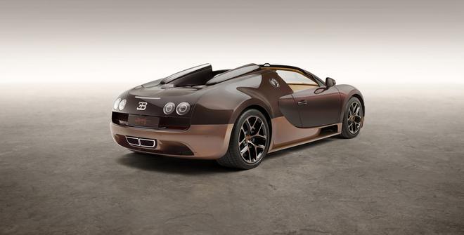 La série des 3 Bugatti Veyon Grand Sport Rembrandt est déjà vendue