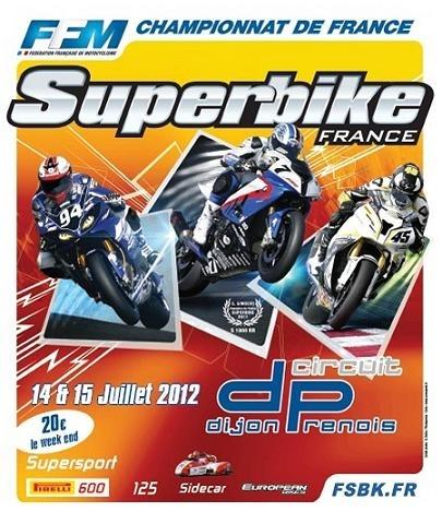 Le championnat de France Superbike à Dijon, c'est ce week-end !