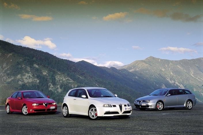 Alfa Romeo 147/156 GTA Et GT 3,2 L (2001-2007) : Trois