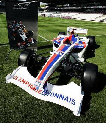 Superleague Formula - Nelson Panciatici: Premier match à domicile