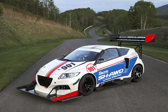 Pikes Peak 2015 : Honda y va aussi en électrique