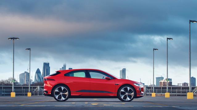 Salon de Genève 2017 : le Jaguar I-Pace Concept en rouge