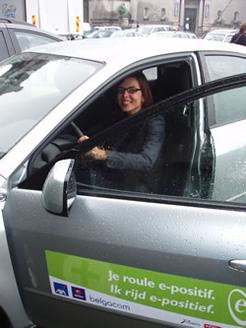 """Eco-conduite au Salon de Bruxelles : résultats du projet pilote """"rouler e-positif"""""""