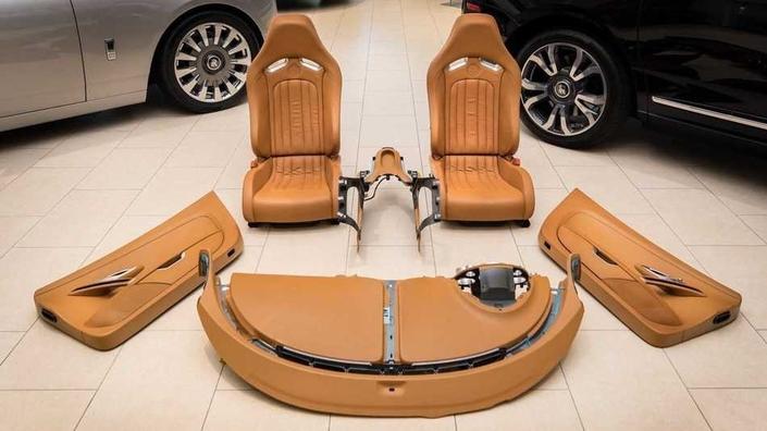 150000dollars... pour un intérieur de voiture