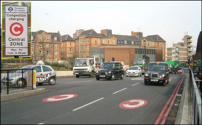 Péage urbain/Londres : une nouvelle taxe destinée aux poids lourds trop polluants