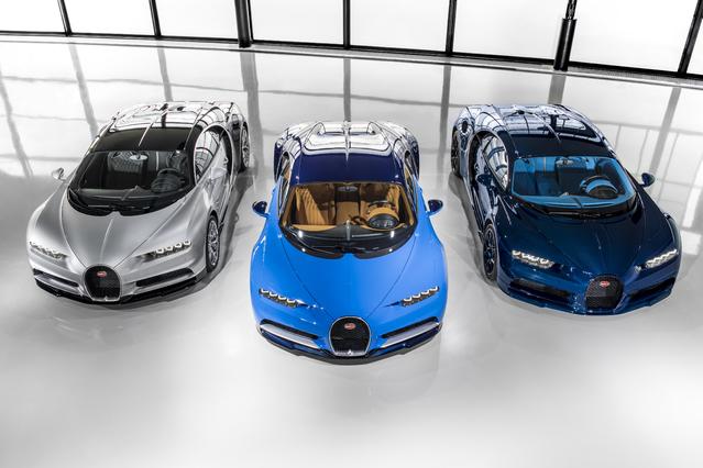 Salon de Genève 2017 : Bugatti annonce un nouveau modèle