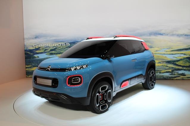 Citroën C-Aircross Concept : digne successeur - Vidéo en direct du Salon de Genève 2017