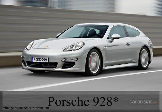 Chez Porsche, la 928 se prépare...