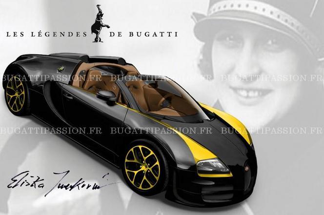 Surprise : la Bugatti Veyron Grand Sport Vitesse Elizabeth Junek en fuite
