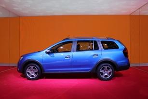 Dacia Logan MCV Stepway : break de look - Vidéo en direct du Salon de Genève 2017