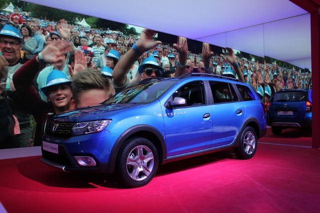 Dacia Logan MCV Stepway : break de look - Vidéo en direct du Salon de Genève 2017