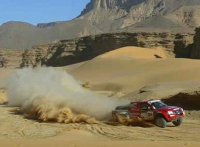 """Interview Christian Lavieille: """"Le Dakar 2007 en T1 avec Yvan Muller""""."""