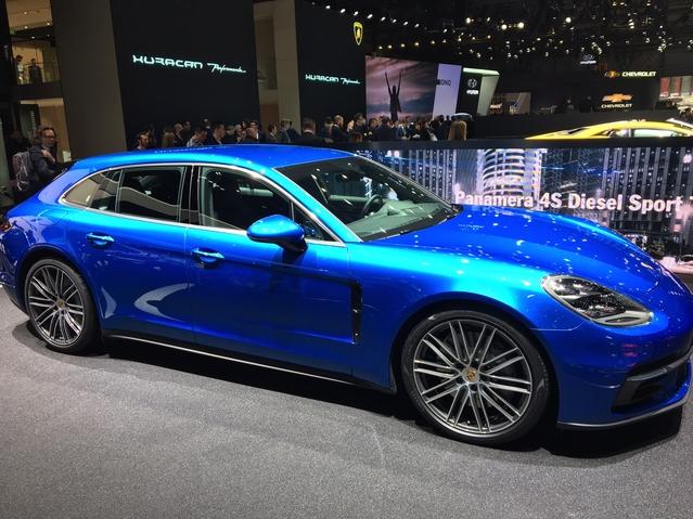 Salon de Genève 2017 - La Porsche Panamera Sport Turismo se dévoile en live