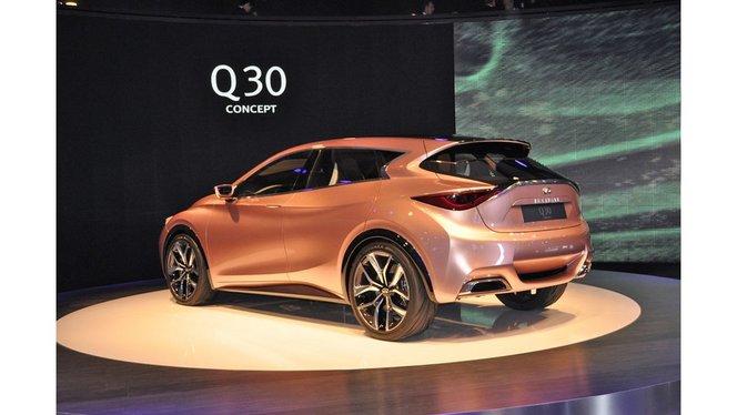 Mercedes va concevoir et développer l'Infiniti Q30