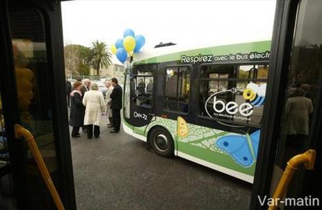 Fréjus/Saint-Raphaël : deux bus électriques Bee en service