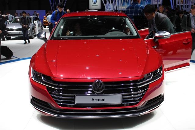 Salon de Genève 2017 - Volkswagen dévoile en live l'Arteon
